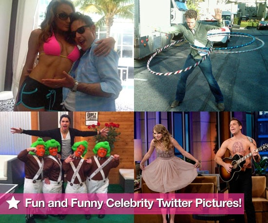 Fun and Funny Celebrity Twitter Pictures 2010-11-25 22:00:00