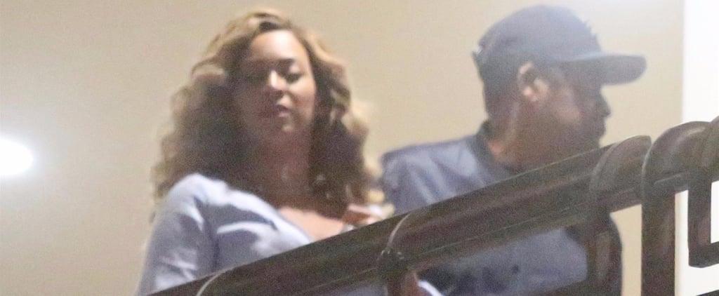 Beyonce Wearing Alexis Dress