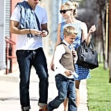 Reese Witherspoon Pairs Flirty Dresses With Family Time For the Weekend