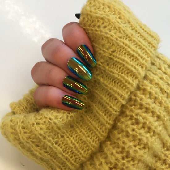 Elegant Touch Chrome Nails