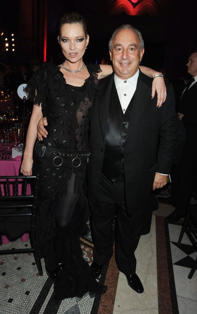 Kate Moss, Sir Philip Green
