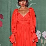 Kat Graham at The Green Carpet Fashion Awards 2019