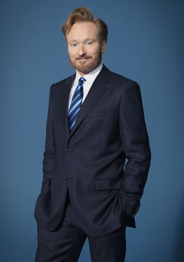 Conan O'Brien New Show Conan Airs Tonight Monday Nov. 7 on TBS