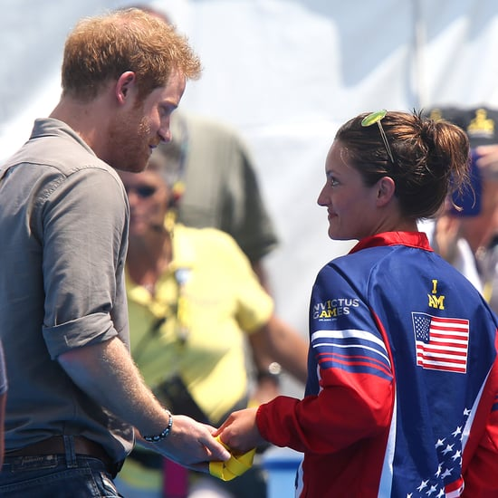 Girl Gives Medal Back to Prince Harry