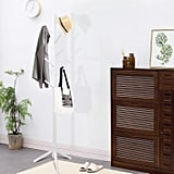 Clewiltess Wooden Tree Coat Rack Stand