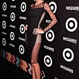 Doutzen Kroes wore a sheer Stella McCartney dress to the Missoni X Target party.
