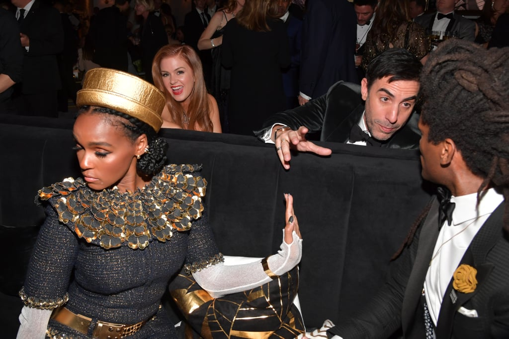 Janelle Monáe Wanting Very Little to Do With This Convo, and Isla Fisher Living For the Gossip