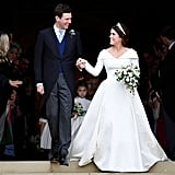 When Jack and Eugenie Were Beaming After Their Wedding