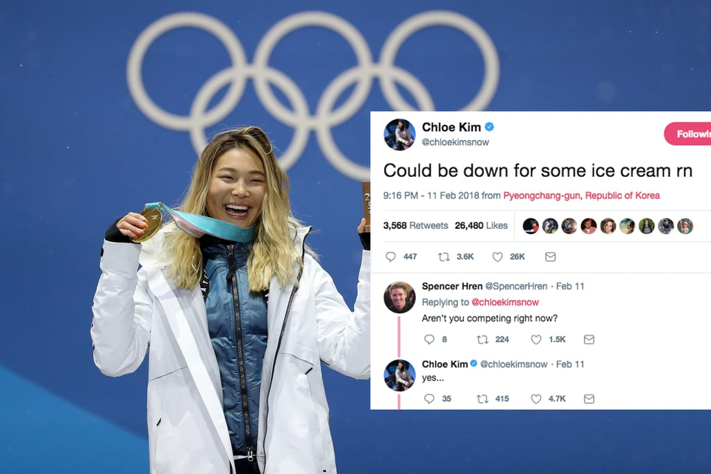 Chloe Kim Loves Food