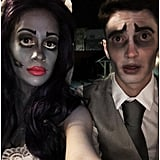 Corpse Bride and Victor From Corpse Bride
