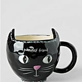 Natural Life Black Cat Mug ($16)