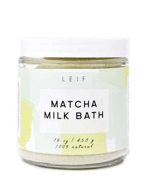 Leif Matcha Tea Milk Bath ($40)