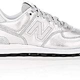 New Balance Women's 574 Metallic Leather Sneakers