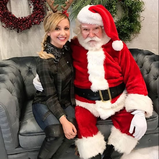 Sarah Michelle Gellar's Christmas Pictures