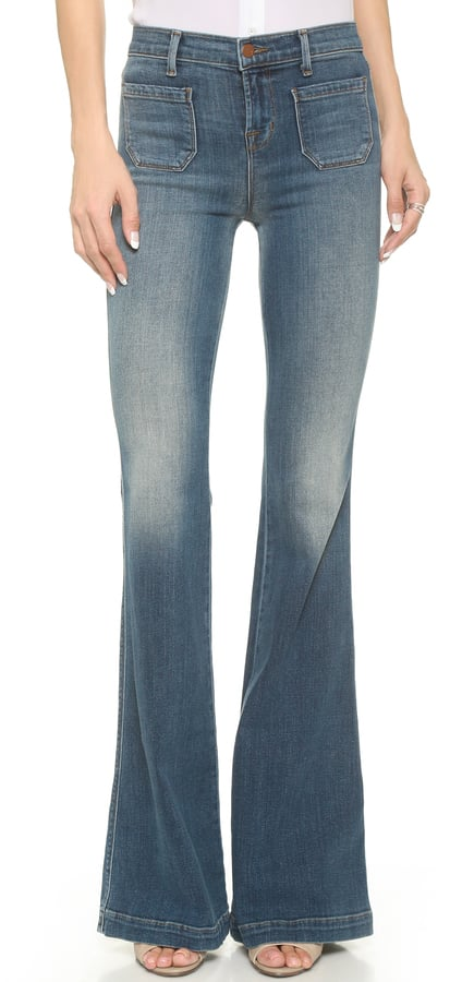 J Brand The Demi High Rise Flare Jeans ($238)