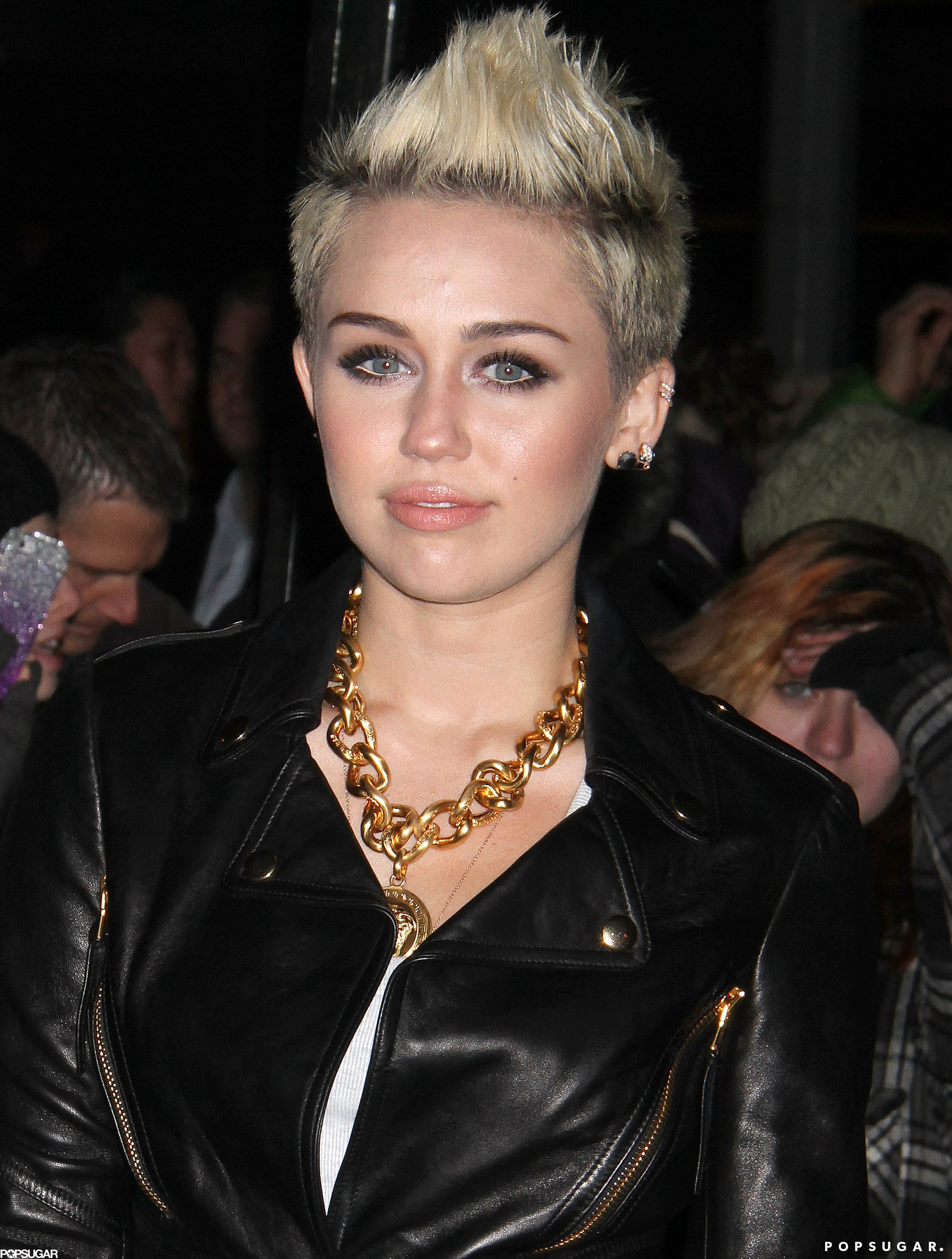 Miley Gets Cute to Celebrate Her Cosmo Cover in NYC