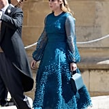 Princess Beatrice at Meghan and Harry's Wedding in 2018
