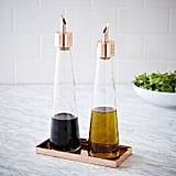 West Elm Copper Oil + Vinegar Set