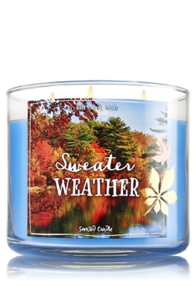 Bath Body Works Sweater Weather Candle Fall Candles On Amazon