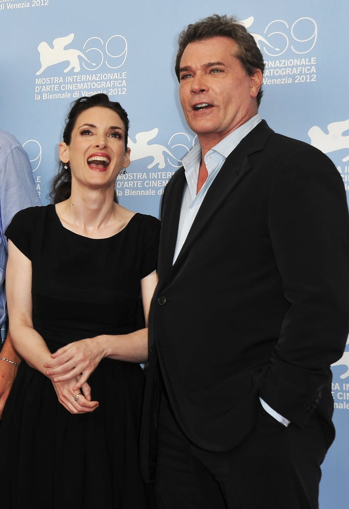 Winona Ryder and Ray Liotta posed together at the Venice Film Festival.