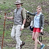 Ty Burrell and Julie Bowen went bush for the episode on Feb. 21.