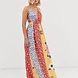 Parisian Floral Maxi Dress