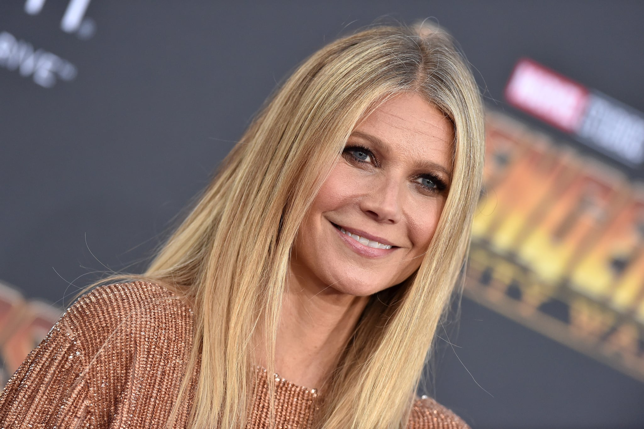 HOLLYWOOD, CA - APRIL 23:  Actress Gwyneth Paltrow attends the premiere of Disney and Marvel's 'Avengers: Infinity War' on April 23, 2018 in Hollywood, California.  (Photo by Axelle/Bauer-Griffin/FilmMagic)