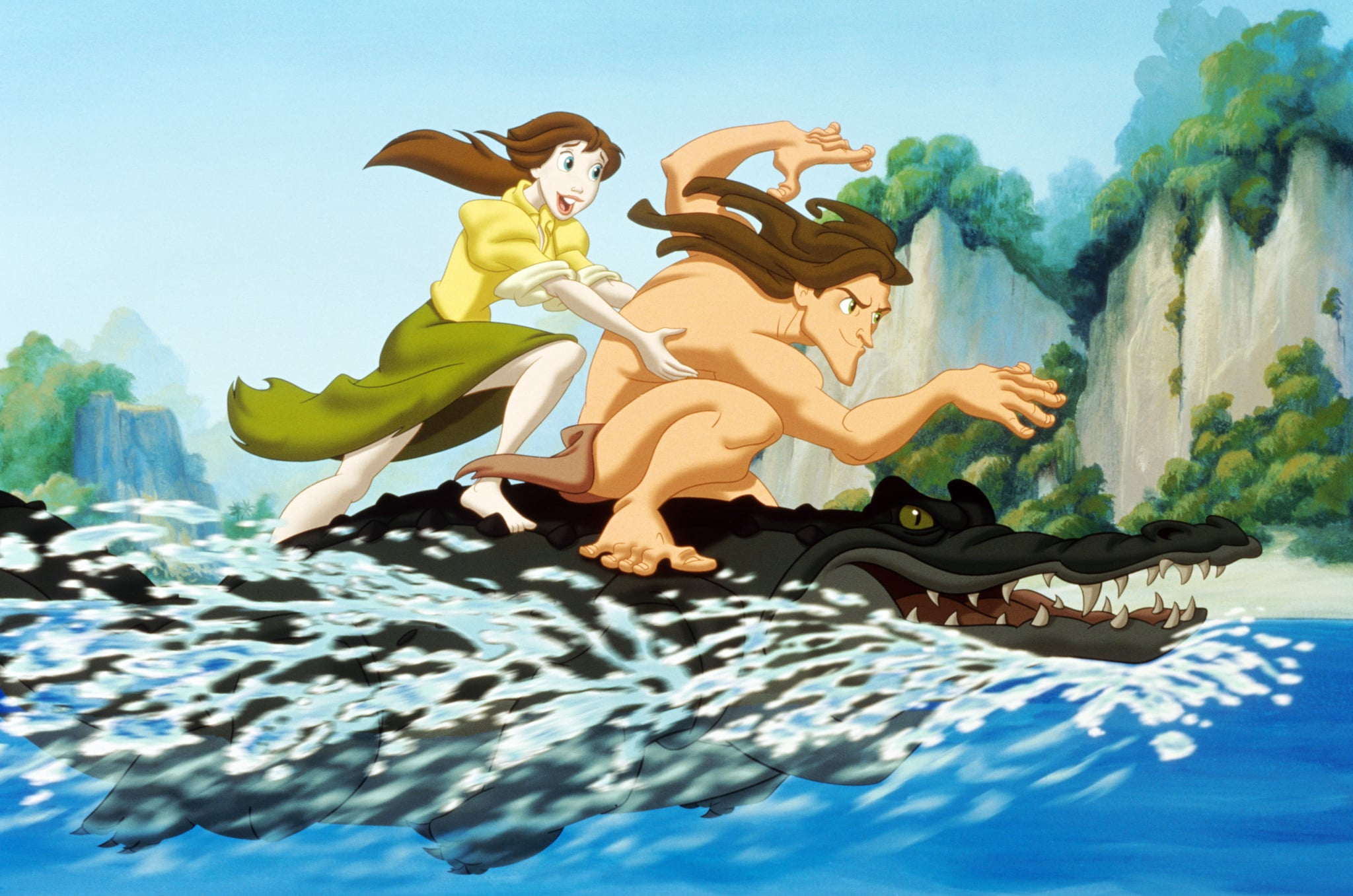 Tarzan 1999 The Ultimate List Of Animated Disney Movies You Need To Watch With Your Kids Popsugar Family Photo 31