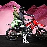 Rihanna Closed Her Fenty x Puma Spring '18 Show on the Back of a Motorbike