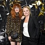 Natasha Lyonne and Amy Poehler at Netflix's Emmys Afterparty