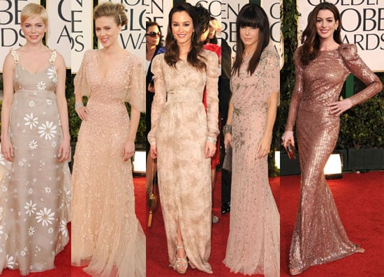 Pictures of 2011 Golden Globes Awards Red Carpet