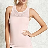 Forever 21 Active Semi-Sheer Mesh Tank