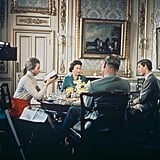 The queen allowed TV cameras behind palace walls for the 1969 documentary Royal Family.