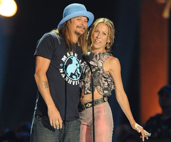 Slide Picture of Kid Rock and Sheryl Crow at CMT Awards