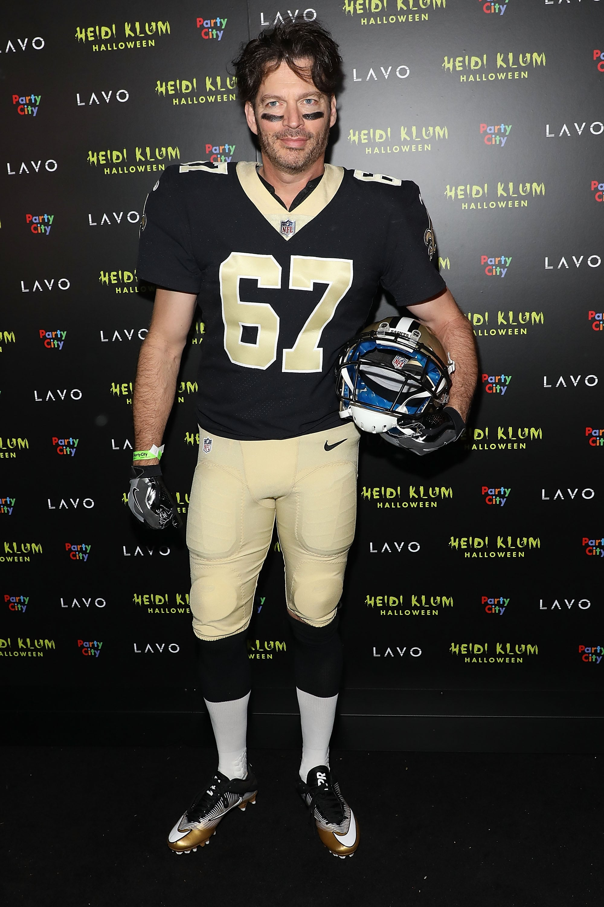 Harry Connick Jr As A New Orleans Saints Player All The
