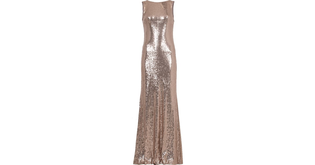 Nicole Miller Sequin Gown | Natalia Dyer\'s Prada Dress at the ...