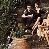 Classic, chic Italian family photos for Dolce & Gabbana's Spring campaign. Source: Fashion Gone Rogue