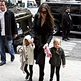 Angie and Girls in NYC