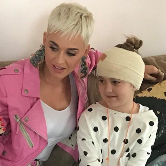 Katy Perry Surprises Sick Fan in Australia July 2018