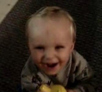 Baby Practices Evil Laugh