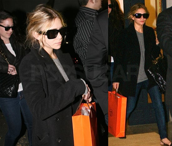 Ashley Stops at Hermes But You Can Score Her Influence