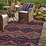 Color Mix Stripe Outdoor Rug