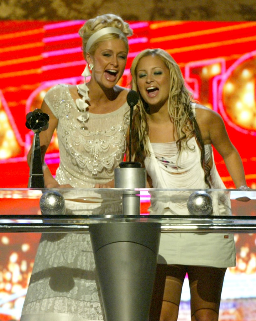 In 2003, Nicole Richie and Paris Hilton took the stage.