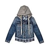 Verishop NSF Clothing Adams Distressed Denim Jacket