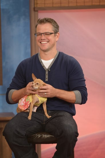 Matt-Damon-cradled-chihuahua-during-stop-Despierta-America