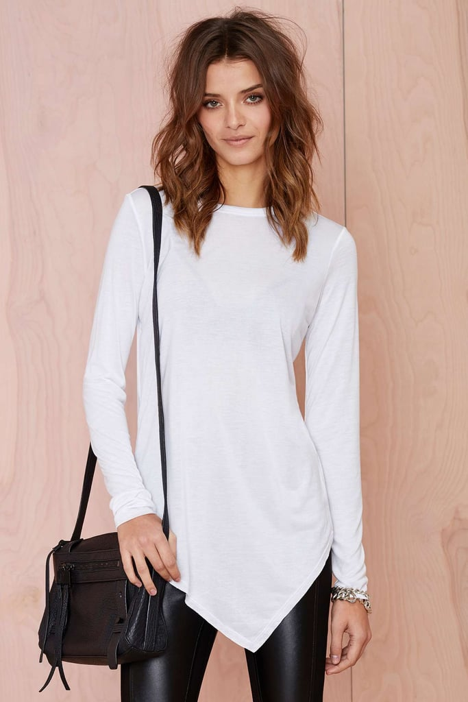 Nasty Gal Playing Games Modal Tee