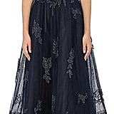Monique Lhuillier Women's Embellished Tulle Sleeveless Gown