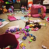 You can clean up a mess like this in no time.