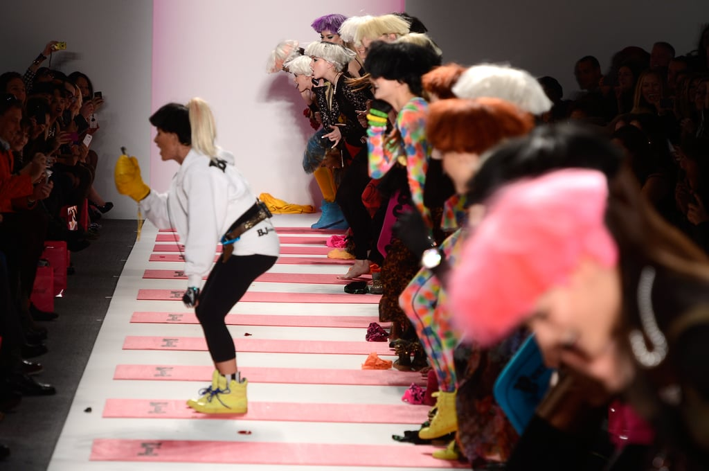 Working Out With Betsey Johnson