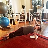 Side Plank Oblique Crunches